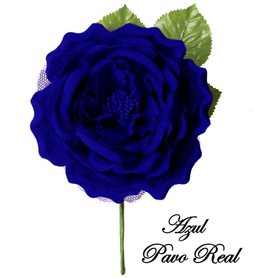 AZUL PAVO REAL