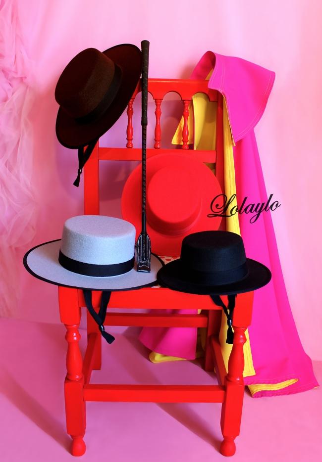 colores de sombreros.